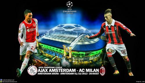 Champions League: Ajax Vs AC Milan [EN VIVO]