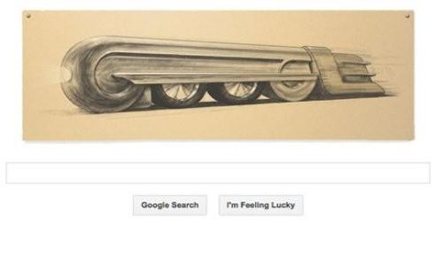 Google celebra el cumpleaños de Raymond Loewy con un nuevo doodle