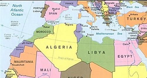 El Magreb en ebullición