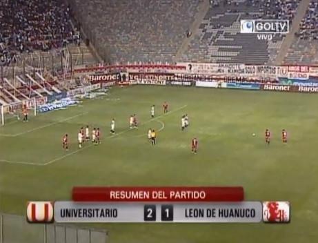 Universitario derrotó al León de Huánuco y aseguró su pase a la final