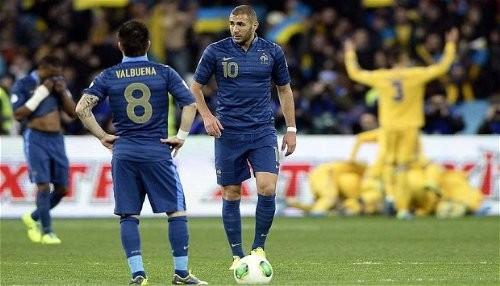 Mundial Brasil 2014: Ucrania venció a Francia por dos tantos contra cero