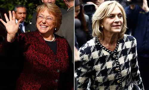 Habrá segunda vuelta en la elección presidencial en Chile: Michelle Bachelet no superó el 50% más uno para ser legida directamente
