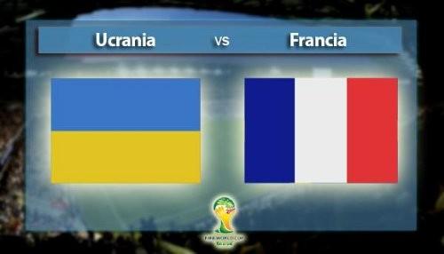 Mundial Brasil 2014: Francia vs Ucrania [EN VIVO]