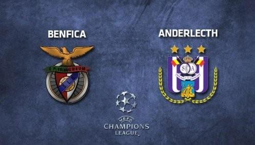 UEFA Champions League 2013: Anderlecht vs Benfica [EN VIVO]