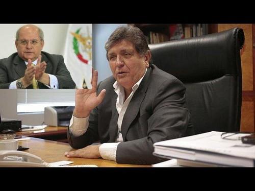 Alan García refiriéndose a Pedro Cateriano: El antiaprismo del ministro de Defensa es para garantizarse la chamba