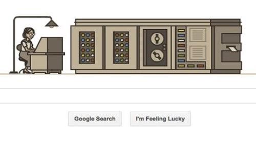 Google honra a Grace Hopper con un nuevo doodle