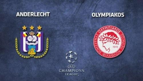 UEFA Champions League 2013: Olympiakos vs. Anderlecht [EN VIVO]