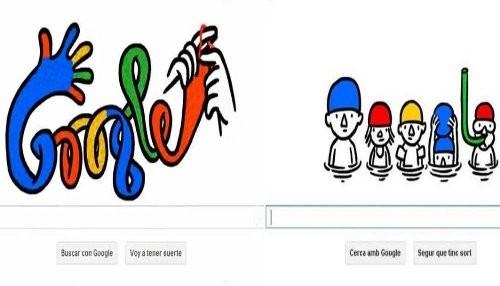 Google da la bienvenida a dos estaciones del año con sus nuevos doodles interactivos