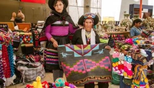 Textiler a milenaria en la feria artesanal m s grande del for Ceramica artesanal peru