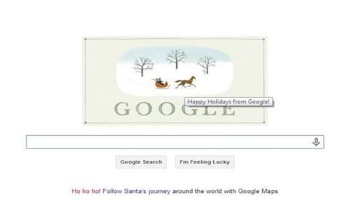 Google conmemora la víspera de Navidad con un nuevo Doodle