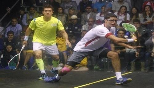 Diego Elias, subcampeón del Open Squash Sub 19 en Londres