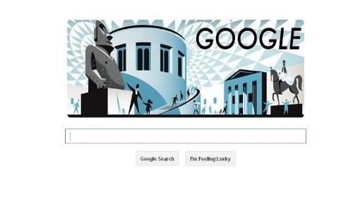 Google celebra el 255 aniversario del Museo Británico con un nuevo doodle