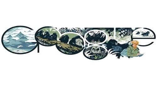 Google celebra el cumpleaños de Dian Fossey con un doodle