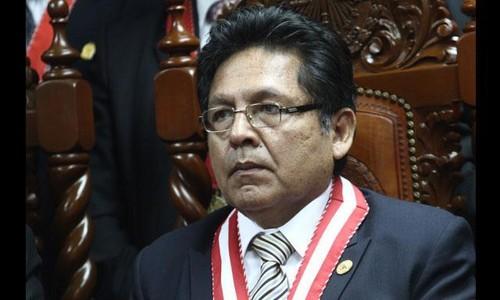 El Fiscal Supremo Carlos Ramos y la prensa jacobina