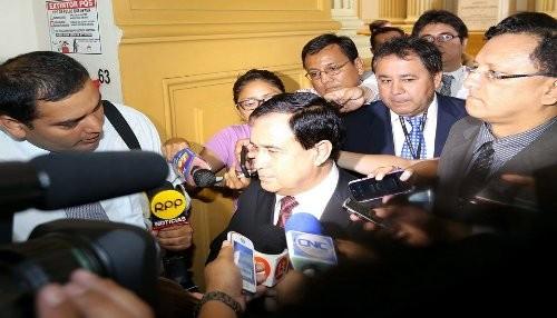 Presidente del congreso afirma que se trabajara en implementación del fallo