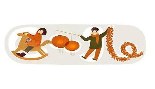 Google celebra el Año Nuevo Chino con un nuevo Doodle