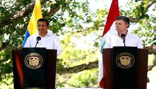 Perú y Colombia reafirman compromiso de impulsar desarrollo de su frontera común