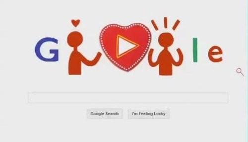 Google celebra el Día de San Valentín con un doodle que te permite hacer chocolates