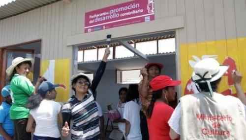 Se inauguró módulo de producción y venta de artesanías en Museo de Sitio de Pachacamac