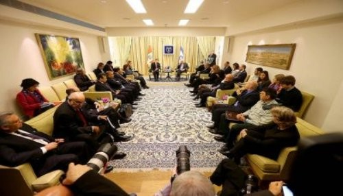 Presidente Humala sostuvo encuentro con mandatario israelí Shimon Peres