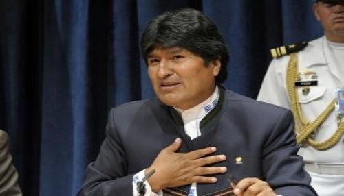 Evo Morales rechaza intento de golpe en Venezuela
