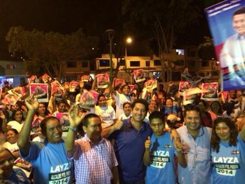 Heresi continúa campaña a la alcaldía de Lima