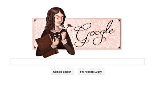 Google recuerda a Elizabeth Browning a través de un nuevo Doodle