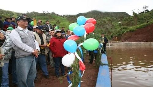 Se anuncia inversión de S/. 50 millones en obras de riego en Apurímac