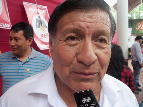 [Huaraz]  Alberto Espinoza Cerrón, candidato del MANPE: Huaraz es una ciudad rica debido al canon, pero está descuidada, insegura y desordenada