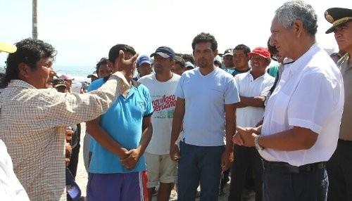 Jefe del Gabinete garantizó en Tacna apoyo del Gobierno en zonas afectadas por sismo