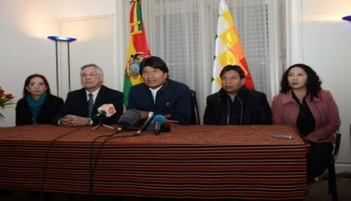 Morales ratifica esperanza y confianza de Bolivia en que CIJ zanjará diferendo marítimo con Chile