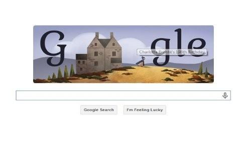 Google conmemora el cumpleaños número 198 de Charlotte Brontë