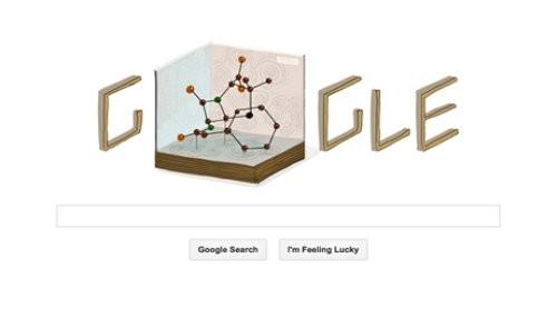 Google rinde homenaje a Dorothy Hodgkin con un nuevo Doodle