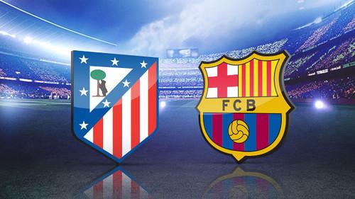 El Barcelona y el Atlético de Madrid luchan hoy por el título de la Liga de España