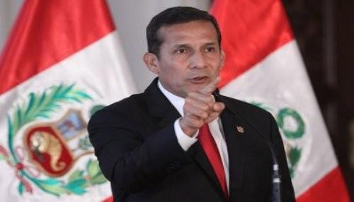 Presidente Humala anuncia que se profundizarán mega operativos de lucha contra la corrupción y la inseguridad