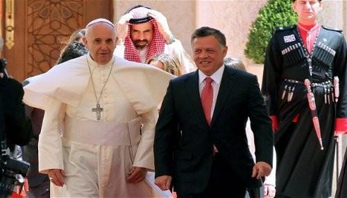 Papa Francisco hace su primera visita oficial a Tierra Santa