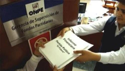 Organizaciones políticas se comprometen con la ONPE a transparentar sus ingresos y gastos de campaña