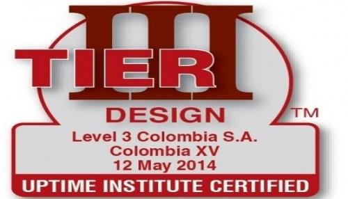 El Data Center de Level 3 en Colombia consigue la Primera Certificación Uptime Institute Tier III of Design Documents Award
