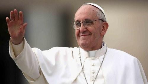 El Papa Francisco se presentó en audiencia general semanal en la Plaza de San Pedro