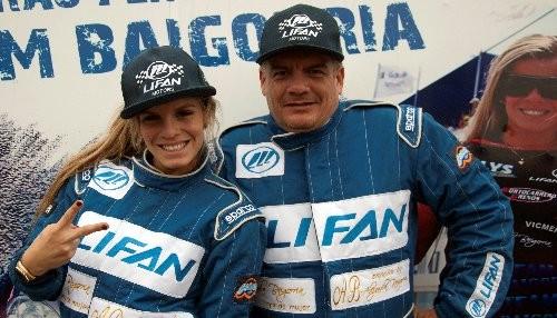 Team Baigorria de Lifan ocupó el cuarto lugar del FIA NACAM Rally Cañete 2014