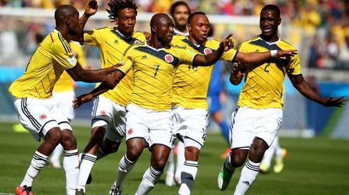 Colombia golea a Grecia en su debut en el Mundial Brasil 2014: 3 - 0