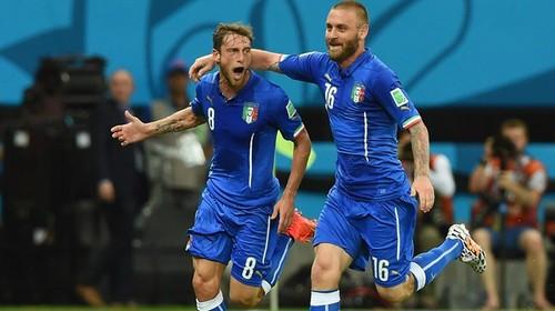 Italia pudo más que Inglaterra en el Arena Amazonia de Manaos: 2- 1