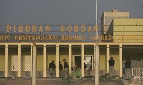 Gregorio Santos ya se encuentra en el Penal de Piedras Gordas