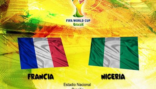 Brasil 2014: Francia vs Nigeria (EN VIVO)