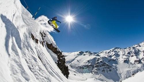 The North Face te lleva a esquiar a Valle Nevado
