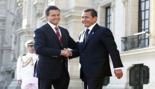 Presidente Humala viaja a México para realizar visita oficial