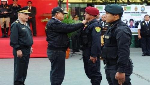 Tres policías fueron ascendidos por su acción distinguida en la lucha contra la delincuencia