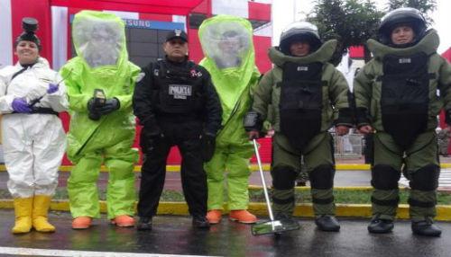 Policías de Argentina y Ecuador se capacitan en el Perú en desactivación de explosivos