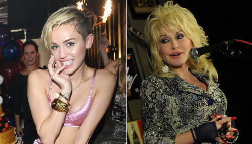 Miley Cyrus desesperada por interpretar a Dolly Parton en el cine