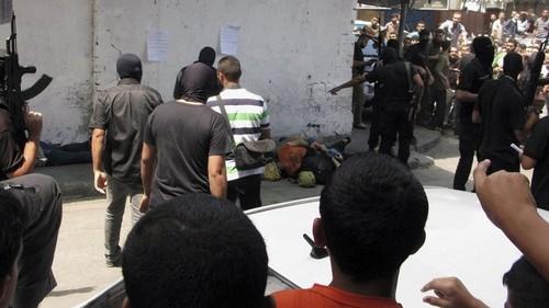 La justicia de Hamas impera en la Franja de Gaza: 18 palestinos acusados de 'colaboración' fueron ejecutados